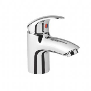 Tavistock - Cruz Mini Basin Mixer with No Pop Up Waste (TCR62)